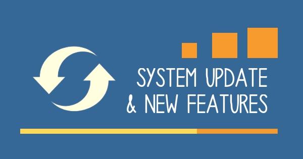 blog system update sept