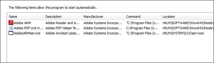 Start up feature of Mirekusoft Install Monitor