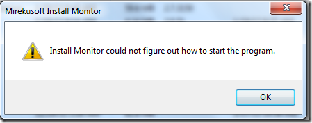 Mirekusoft Install Monitor Dialogue Box