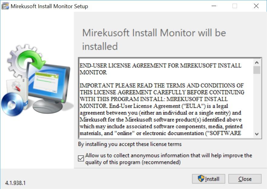 Mirekusoft Install Monitor 4 Setup