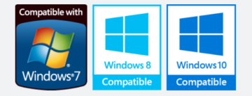 Compatible with Windows 7-10